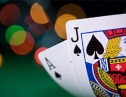 Keuzes Blackjack spel
